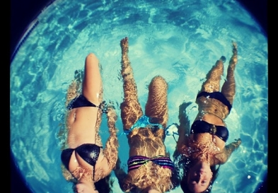 hen party ideas, pool hen party